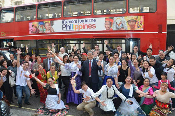 Promoting Philippine tourism in London
