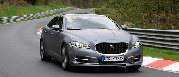 TopGear.com.ph Philippine Car News - Jaguar XJ Supersport is carmaker's first-ever Nürburgring taxi