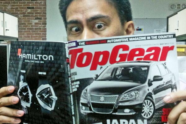Top Gear Philippines' new columnist