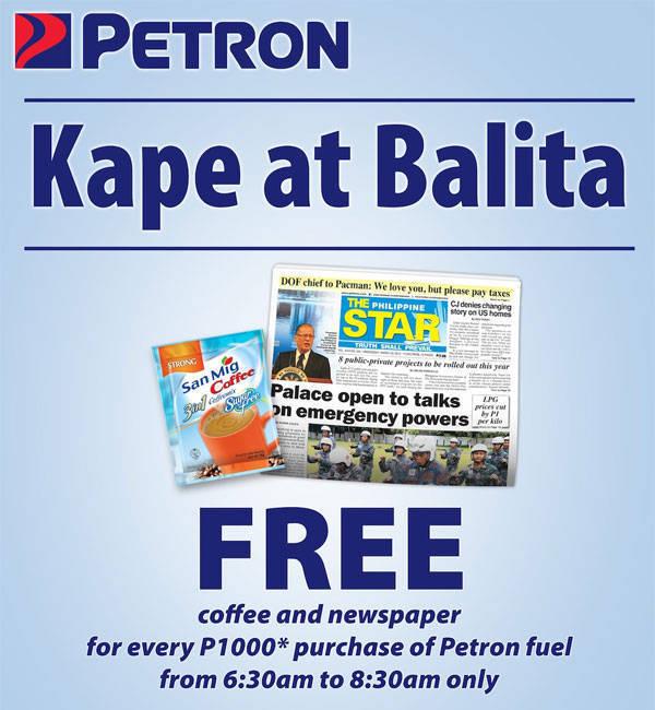 Petron promo
