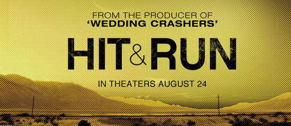 Hit and Run movie trailer involves fast cars and a Filipino
