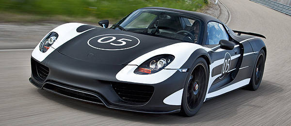 TopGear.com.ph Philippine Car News - Porsche begins driving trials for 918 Spyder prototypes