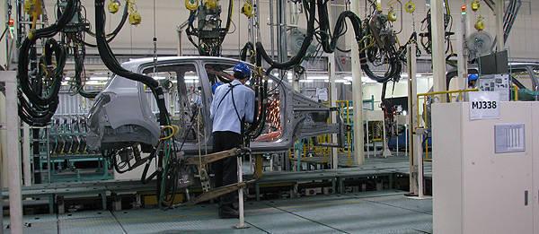 Mitsubishi's Laem Chabang plant