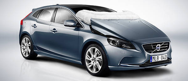 TopGear.com.ph Philippine Car News - Volvo to introduce world's first pedestrian airbag on all-new V40