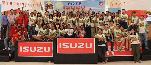 TopGear.com.ph Philippine Car News - Isuzu Philippines' annual Isuzu Family Challenge now underway