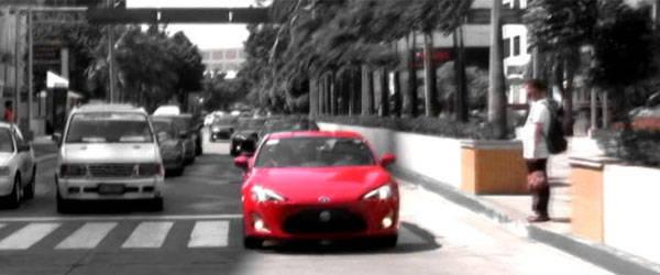 Toyota 86 Sightings Motorcade
