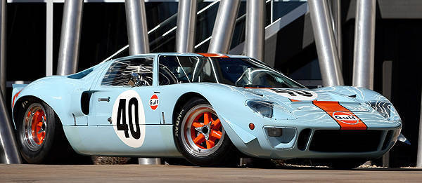 TopGear.com.ph Philippine Car News - Gulf-liveried, race-spec'd 1968 Ford GT40 to be auctioned off