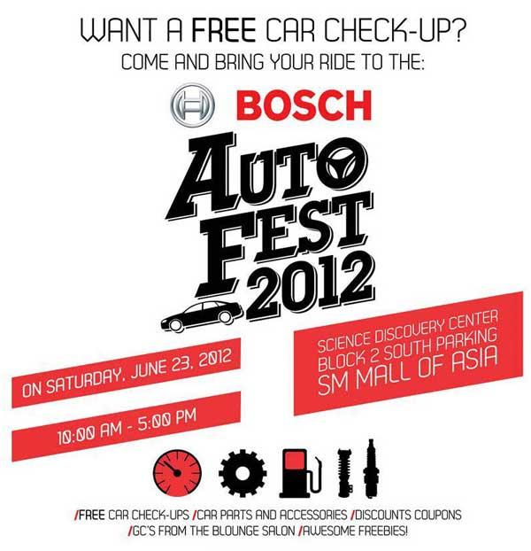 Bosch Auto Fest 2012
