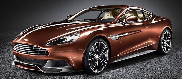 Aston Martin unveils all-new Vanquish