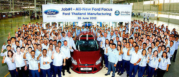 TopGear.com.ph Philippine Car News - Ford begins production of ASEAN-market Focus in Thailand
