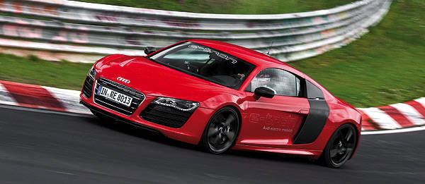 TopGear.com.ph Philippine Car News - Audi R8 e-Tron laps Nurburgring's Nordschleife in record time