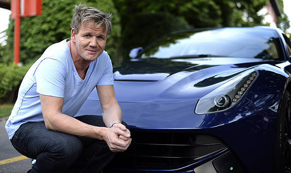 TopGear.com.ph Philippine Car News - Celebrity chef Gordon Ramsay tours Ferrari's factory