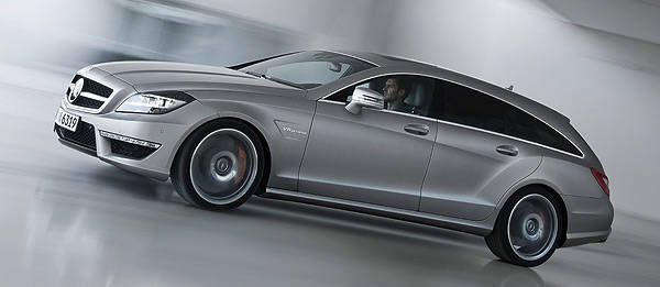 TopGear.com.ph Philippine Car News - Mercedes-Benz reveals CLS63 AMG Shooting Brake