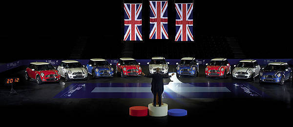 TopGear.com.ph Philippine Car News - Mini makes another tribute to the 2012 London Olympics