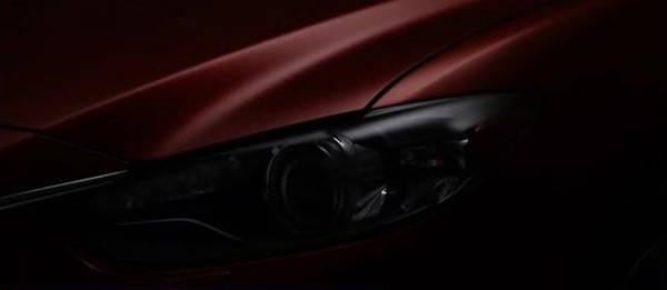 TopGear.com.ph - Mazda makes public first teaser video of next-generation Mazda 6