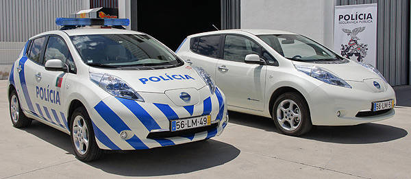 TopGear.com.ph Philippine Car News - Portugese police add eight Nissan Lead to its fleet of cars