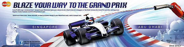 TopGear.com.ph Philippine Car News - Watch the Singapore, Abu Dhabi Grand Prix courtesy of Petron