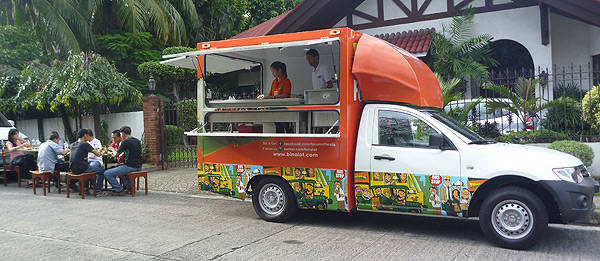 TopGear.com.ph Philippine Car News - Binalot food chain introduces truck concept