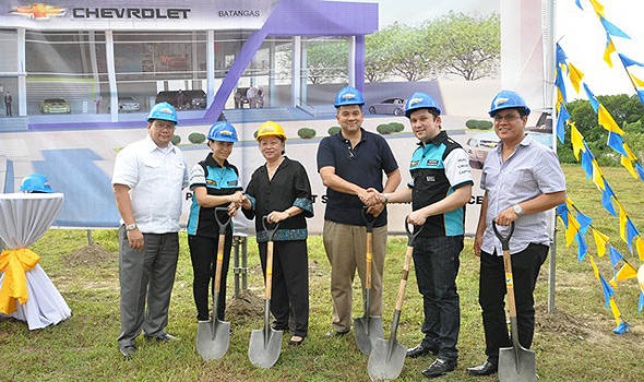 TopGear.com.ph Philippine Car News - Chevrolet breaks ground for new Batangas dealership