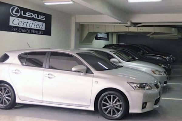 Lexus Certified Pre-Owned Vehicles