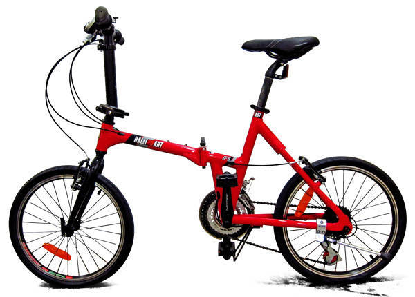 Mitsubishi Ralliart Dahon foldable bicycle