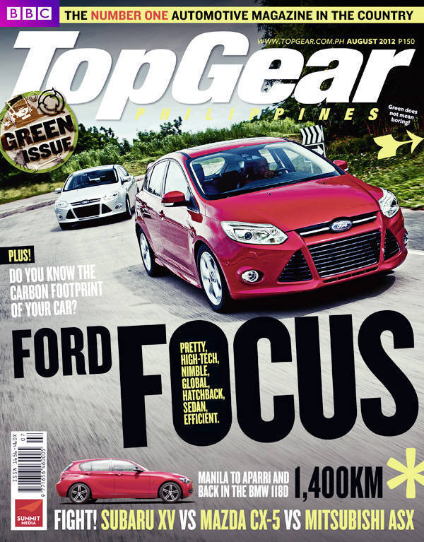 Top Gear Philippines' August 2012 issue