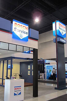 TopGear.com.ph Philippine Car News - Bosch Service workshop concept takes part at last weekend's franchise expo