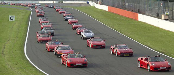TopGear.com.ph Philippine Car News - Over 1,000 vehicles sign up for world's largest parade of Ferrari cars