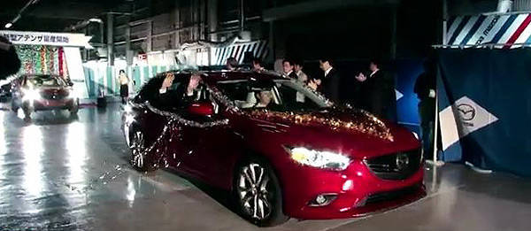 TopGear.com.ph Philippine Car News - Mazda releases video of 6's roll-out