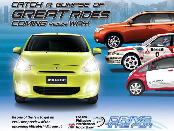 TopGear.com.ph Philippine Car News - PIMS 2012: Mitsubishi PH to give sneak preview of Mirage