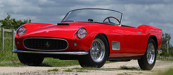TopGear.com.ph Philippine Car News - Ferrari 250 GT California Spyder prototype to go under the gavel