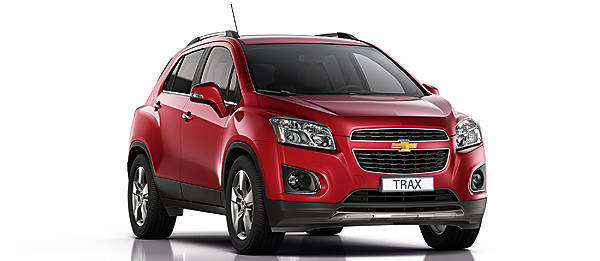 TopGear.com.ph Philippine Car News - Chevrolet to debut Trax SUV at Paris Motor Show