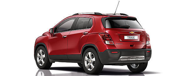 TopGear.com.ph Philippine Car News - Chevrolet to debut Trax small SUV at Paris Motor Show