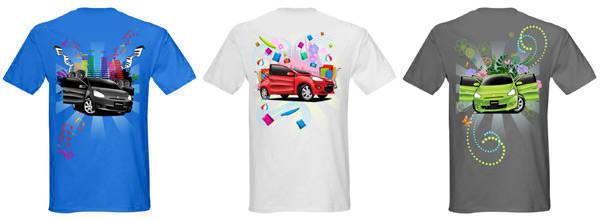 Mitsubishi Mirage shirts