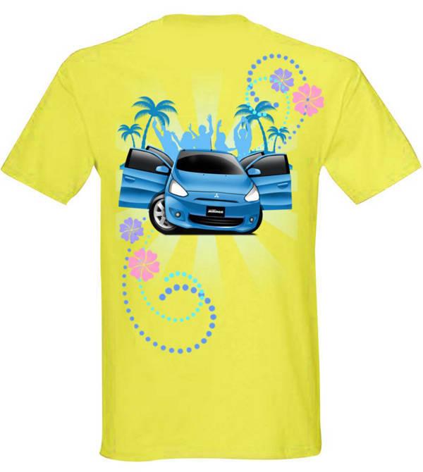 Mitsubishi Mirage shirt