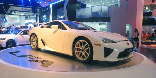 How do you steal the Lexus LFA's thunder?