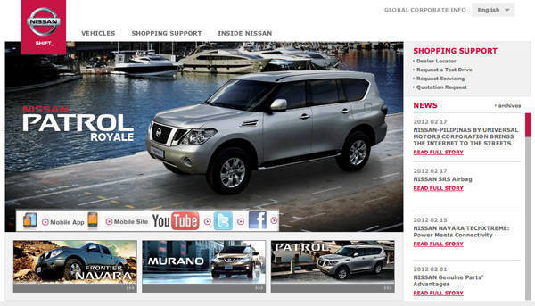 Universal Motors Corporation's official website