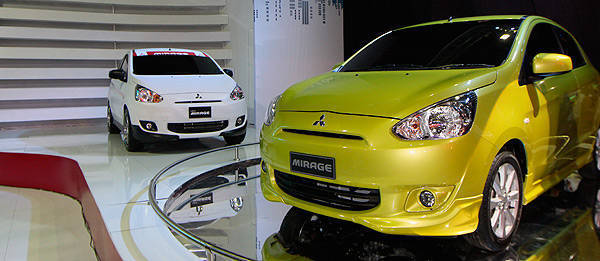 TopGear.com.ph Philippine Car News - Mitsubishi PH receives over 40 reservations for Mirage