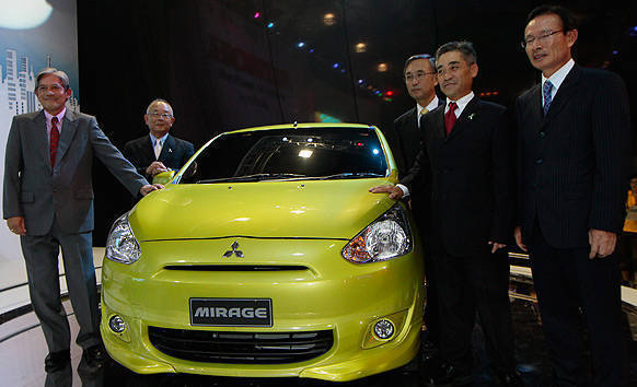 TopGear.com.ph Philippine Car News - Mitsubishi PH gets first-ever left-hand drive Mirage unit