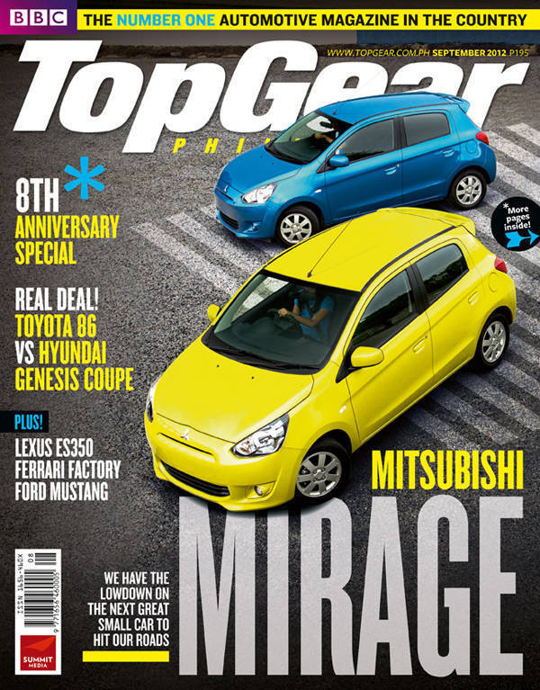 Top Gear Philippines' September 2012 issue