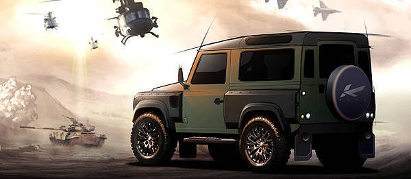 TopGear.com.ph Philippine Car News - Popular British car customization shop makes over Land Rover Defender
