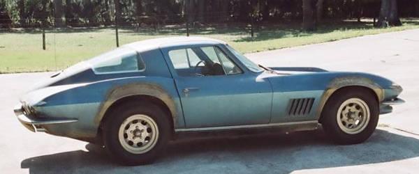 Neil Armstrong's Chevrolet Corvette