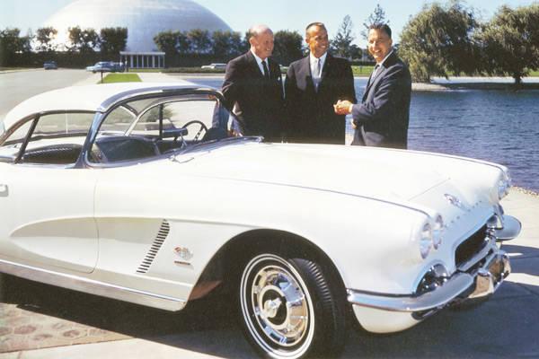 Alan Shepard's Chevrolet Corvette