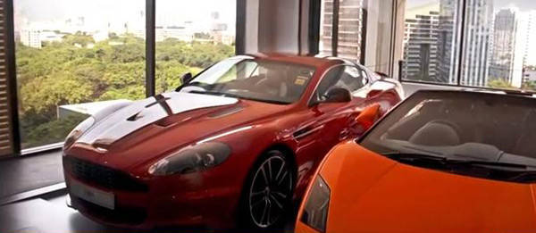 TopGear.com.ph Philippine Car News - Singapore property developer completes condo with 'sky garages' for its units