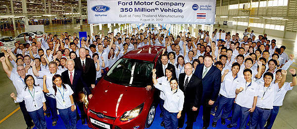 TopGear.com.ph Philippine Car News - Thailand-made Ford Focus is Ford's 350 millionth vehicle