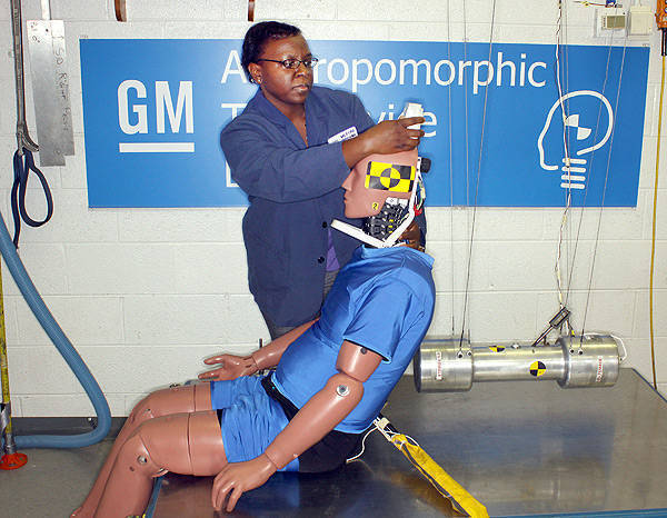 TopGear.com.ph Philippine Car News - GM developing rear-impact crash test dummy