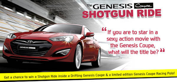 Hyundai Genesis Coupe Shotgun Ride