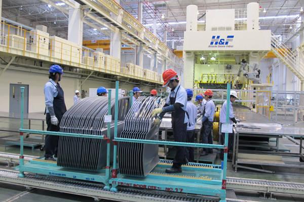 Mitsubishi Mirage factory