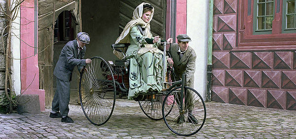 TopGear.com.ph Philippine Car News - Bertha Benz, the grandmother of motoring