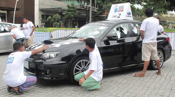 2012 Subaru Impreza Challenge - Manila Leg